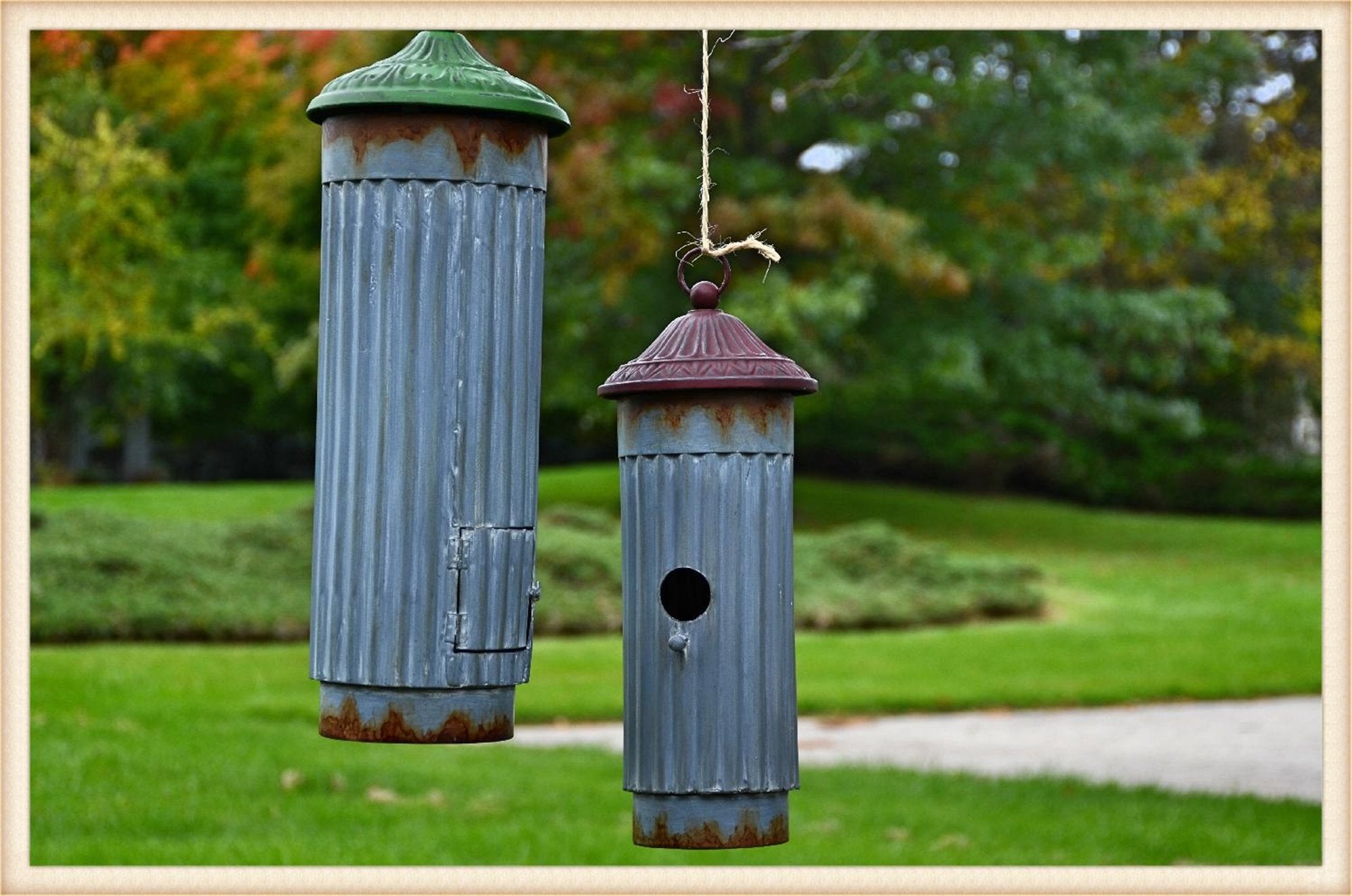 Single Cylinder Birdhouse