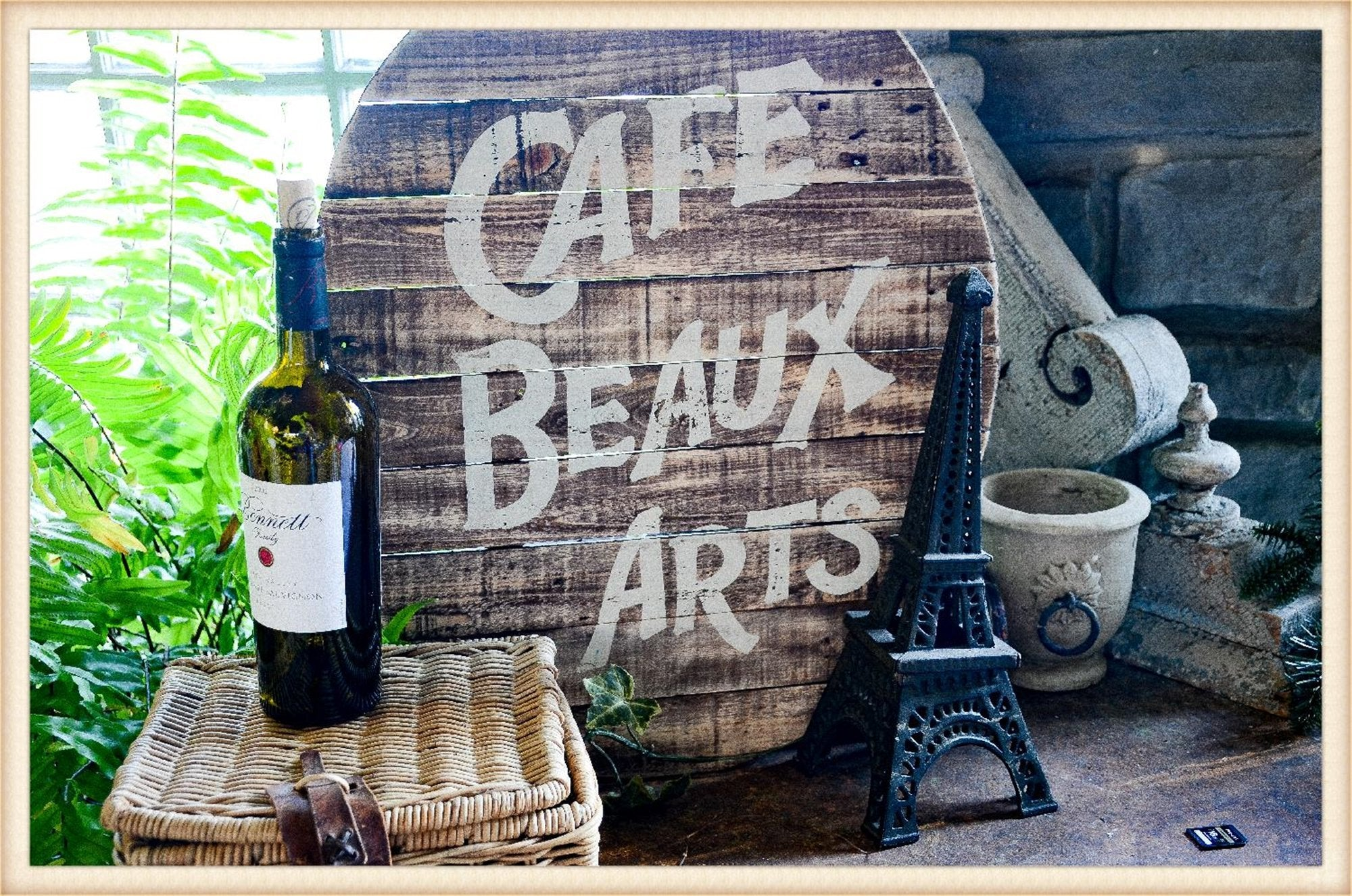 Cafe Beaux Arts Plaque