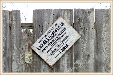 French Auger Sign