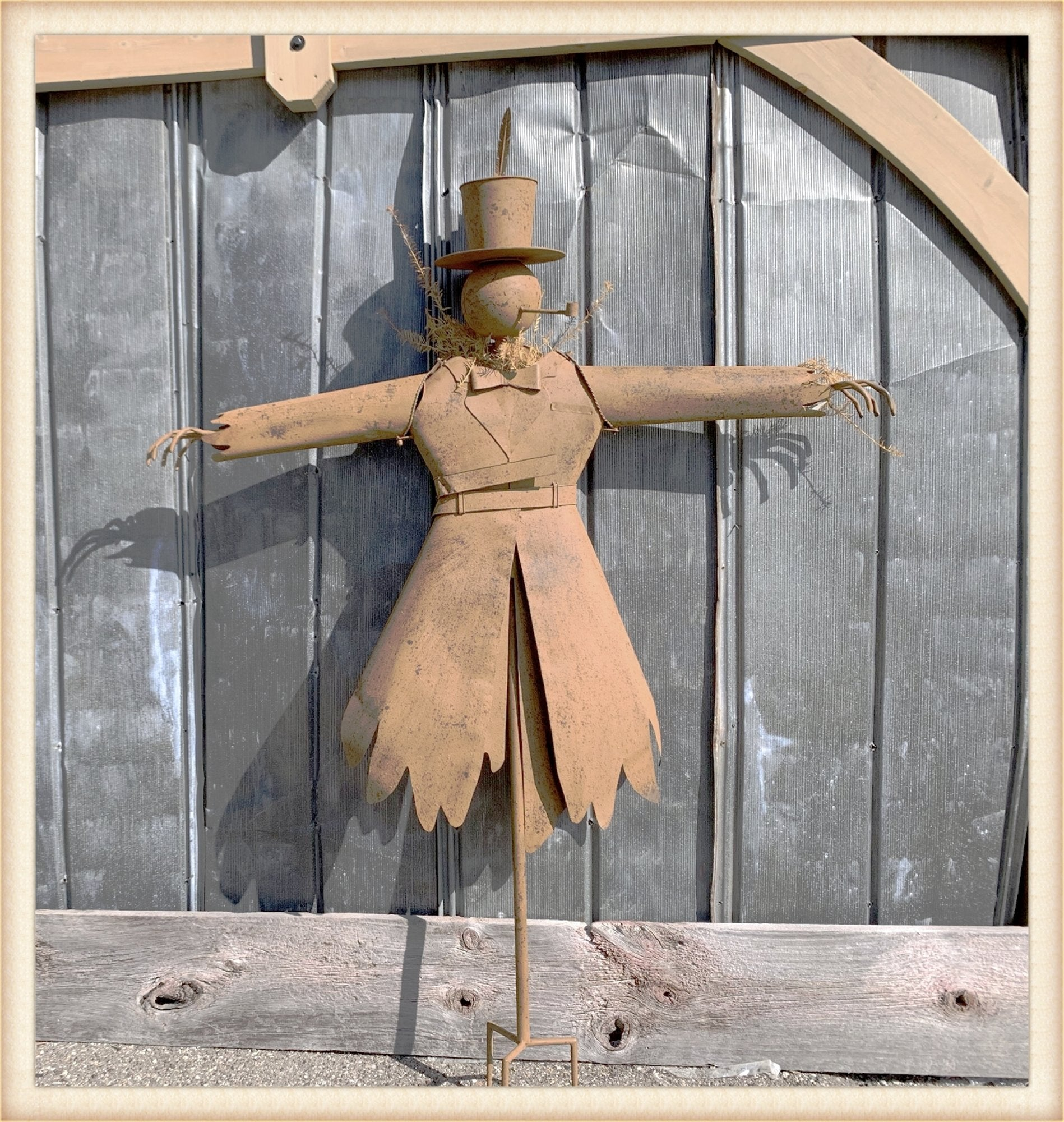 Rustic Scarecrow Pick Up Only!*
