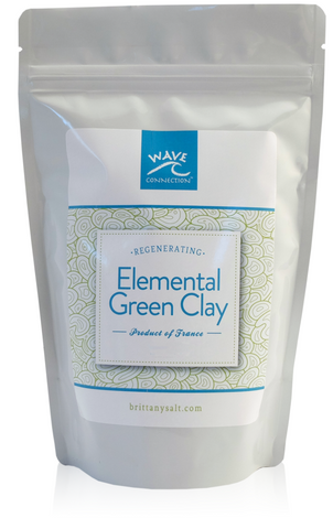 French Green Regenerating Clay by Wave Connection
