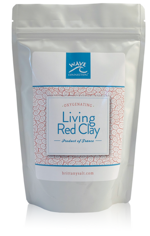 Living Red French Oxygenating Clay by Wave Connection