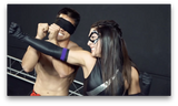 Heroine Kombat | Red Falcon vs Shadowgirl 1