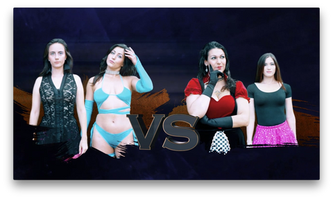 MDP | Dragon Fist Championships: 2 Queeny & Barbie vs Princess Sparkles & The Guardian