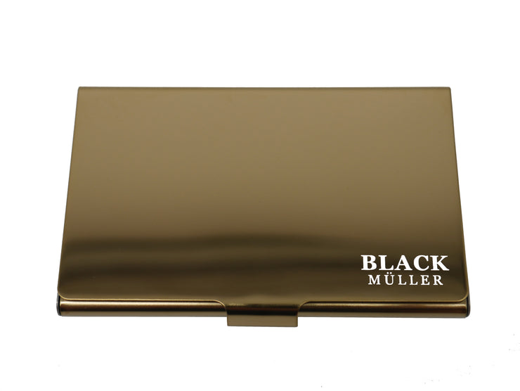 Credit Card Wallet Gold