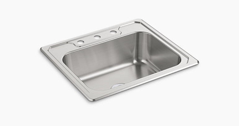 MIDDLETON® 25X22x8 SGL BASIN SINK