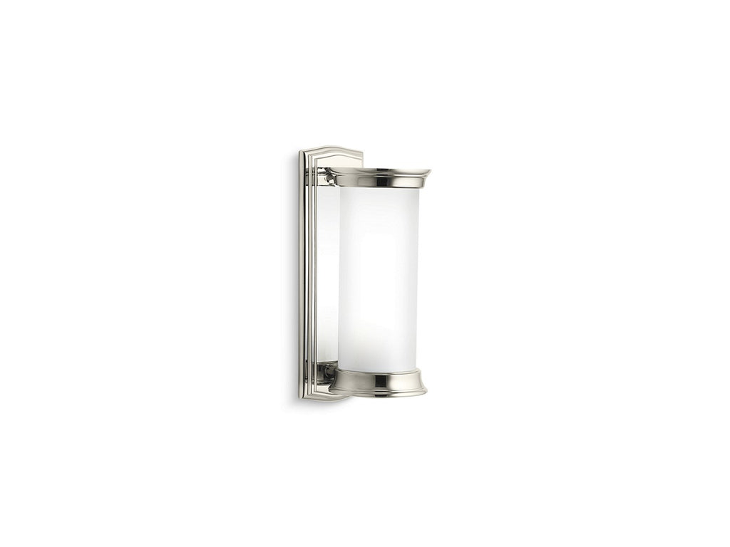 Classic Cylindrical Wall Sconce | NICKEL SILVER | Kallista | GROF USA