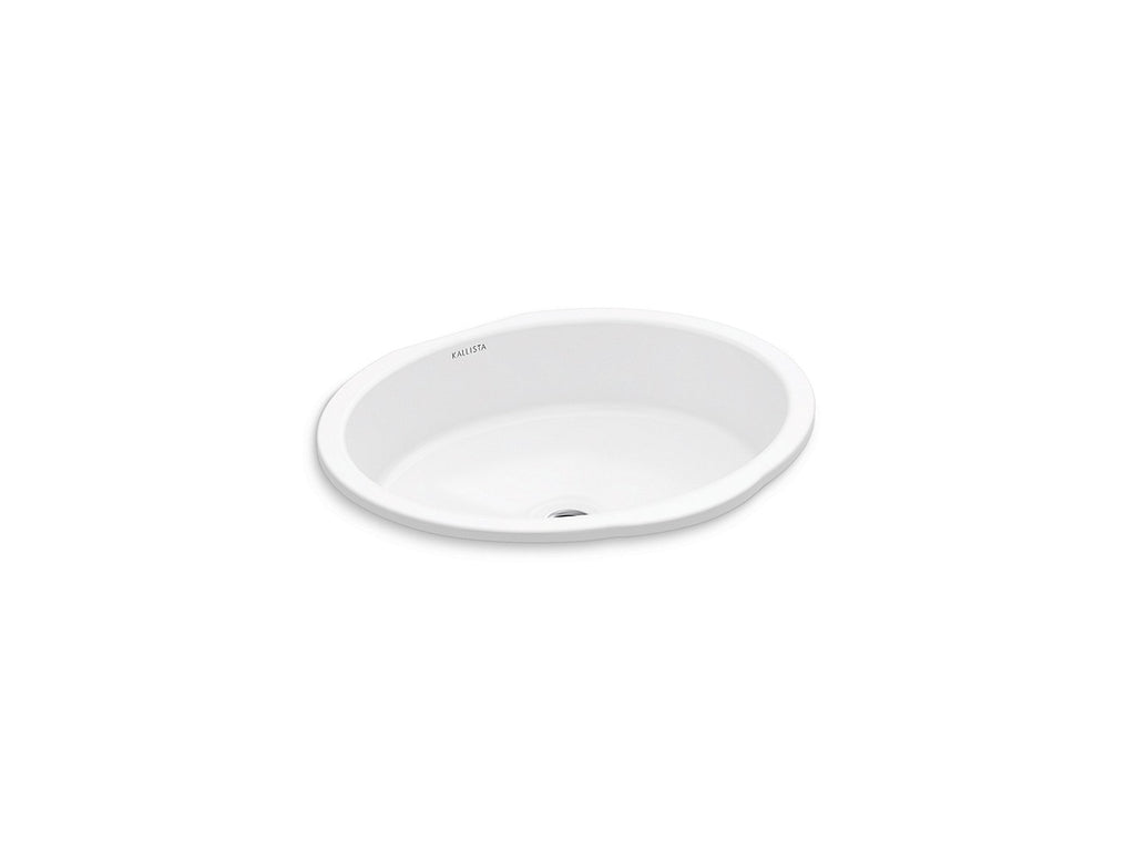Perfect Um Basin, Centric Oval | STUCCO WHITE | Kallista | GROF USA