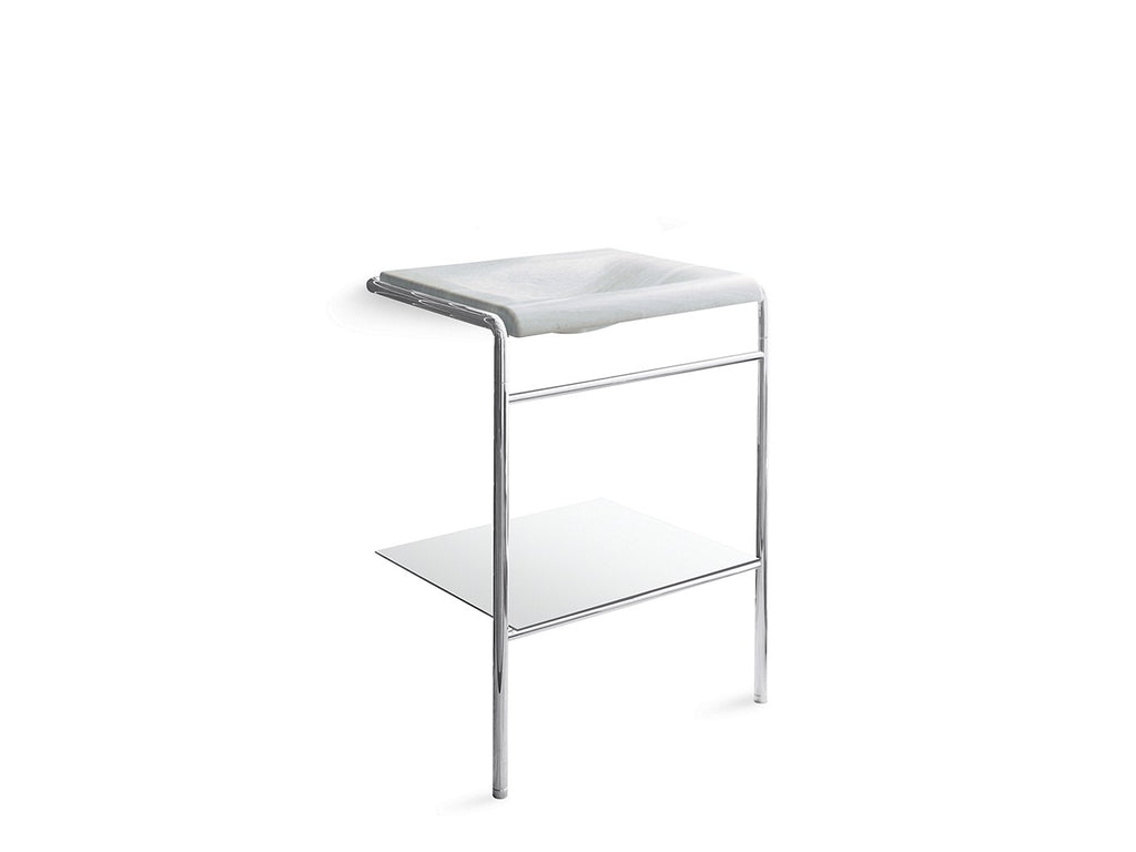 One Console Table Legs | NICKEL SILVER | Kallista | GROF USA