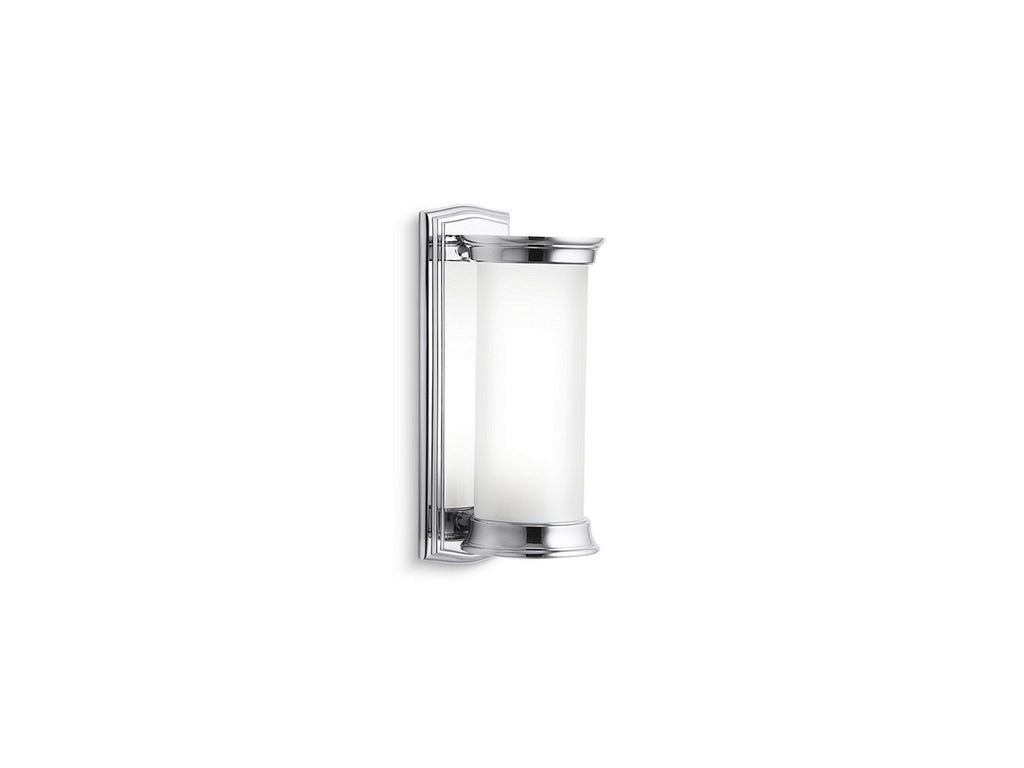 Classic Cylindrical Wall Sconce - Uk | CHROME | Kallista | GROF USA