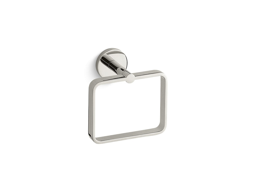 One Towel Ring | NICKEL SILVER | Kallista | GROF USA