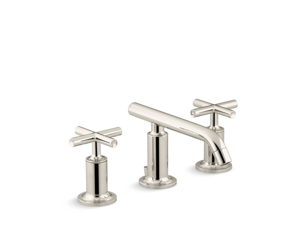 Bathroom Faucet | Purist | Vibrant Polished Nickel | GROF USA