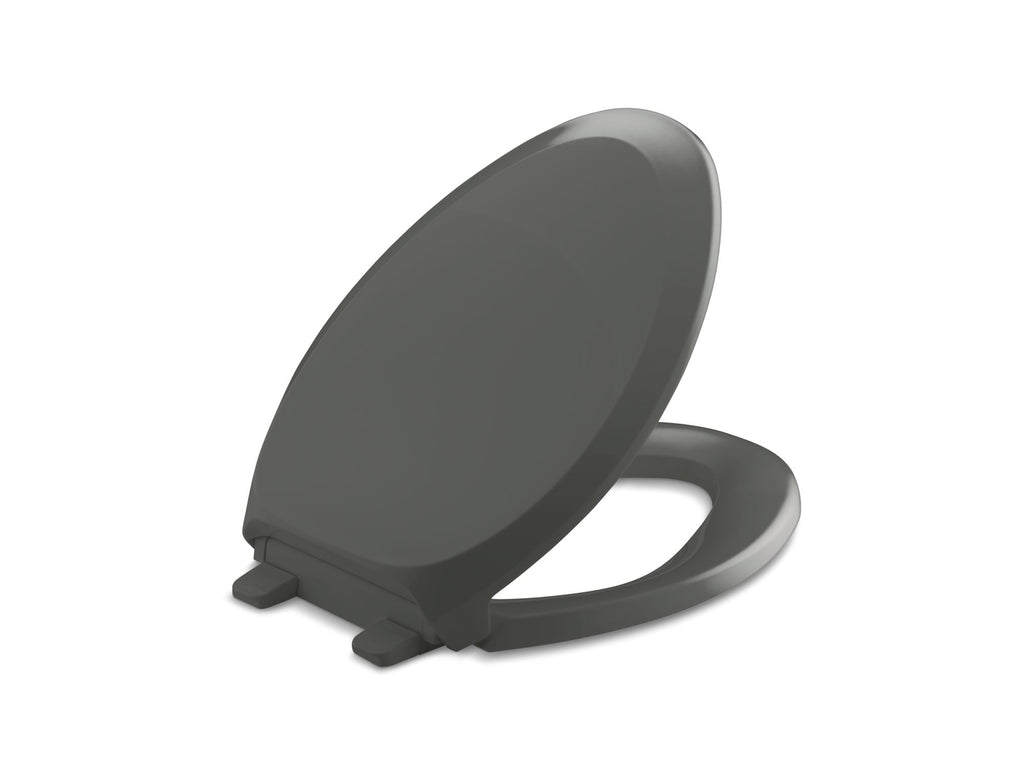 Toilet Seat | French Curve | Thunder Grey | GROF USA