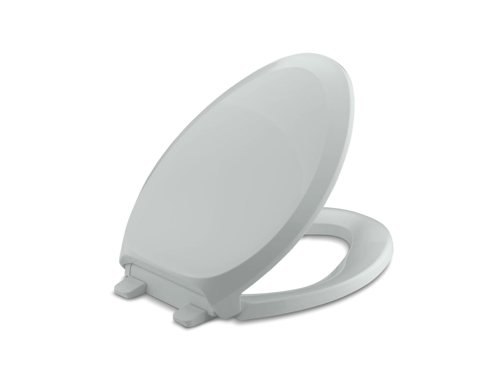 Toilet Seat | French Curve | Ice Grey | GROF USA