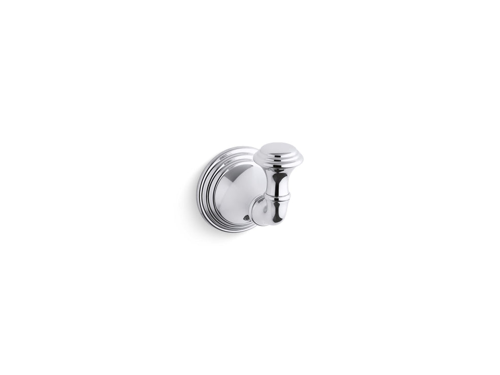 Robe Hook | Devonshire | Polished Chrome | GROF USA