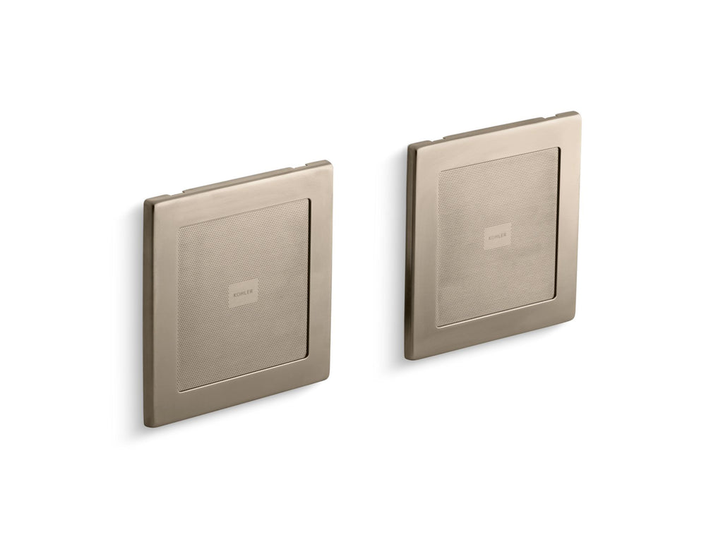 Shower Components | SoundTile | Vibrant Brushed Bronze | GROF USA