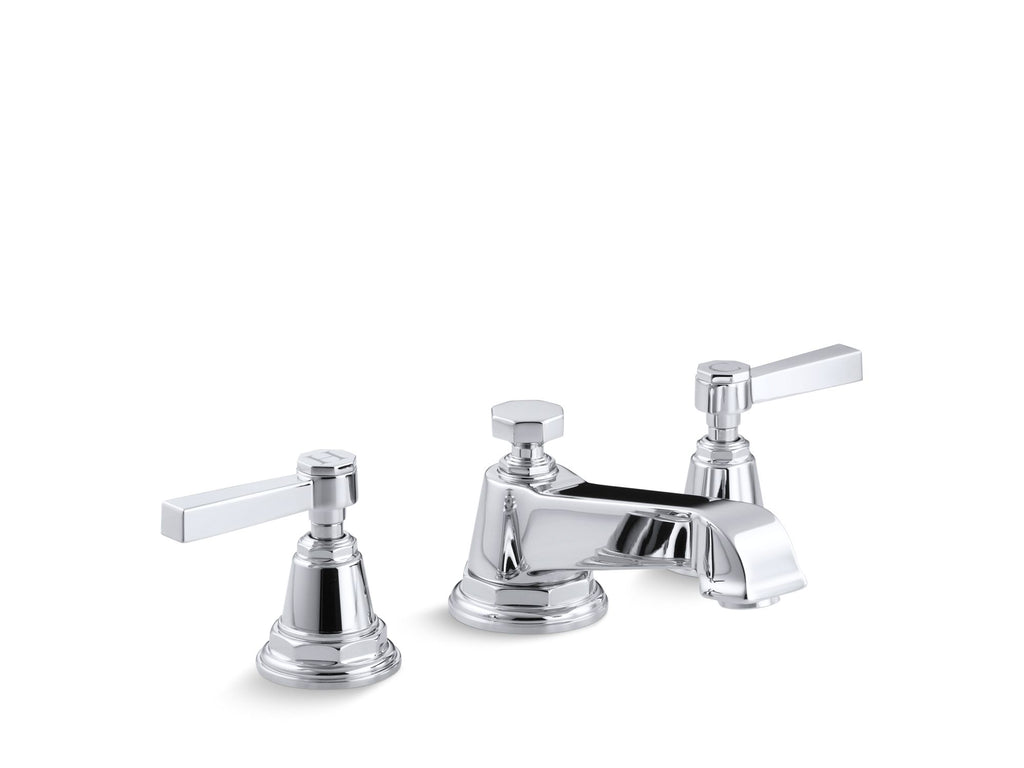Bathroom Faucet | Pinstripe | Polished Chrome | GROF USA