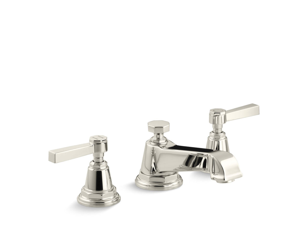 Bathroom Faucet | Pinstripe | Vibrant Polished Nickel | GROF USA