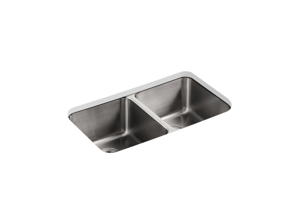 Kitchen Sink | Undertone Double Equal Undercounter Sink | Not Applicable | GROF USA