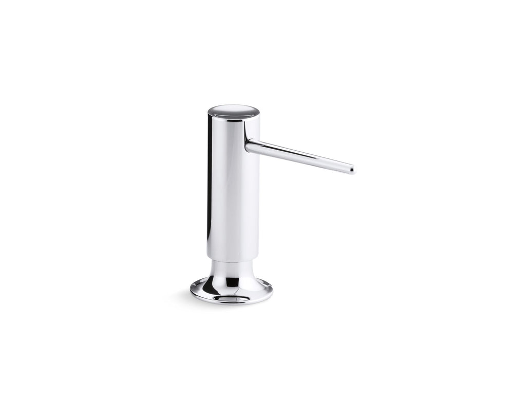 Soap/Lotion Dispenser | CONTEMPORARY SOAP/LOTION DISPENSER | Polished Chrome | GROF USA