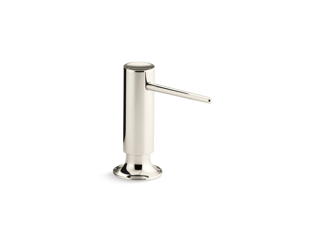 Soap/Lotion Dispenser | CONTEMPORARY SOAP/LOTION DISPENSER | Vibrant Polished Nickel | GROF USA
