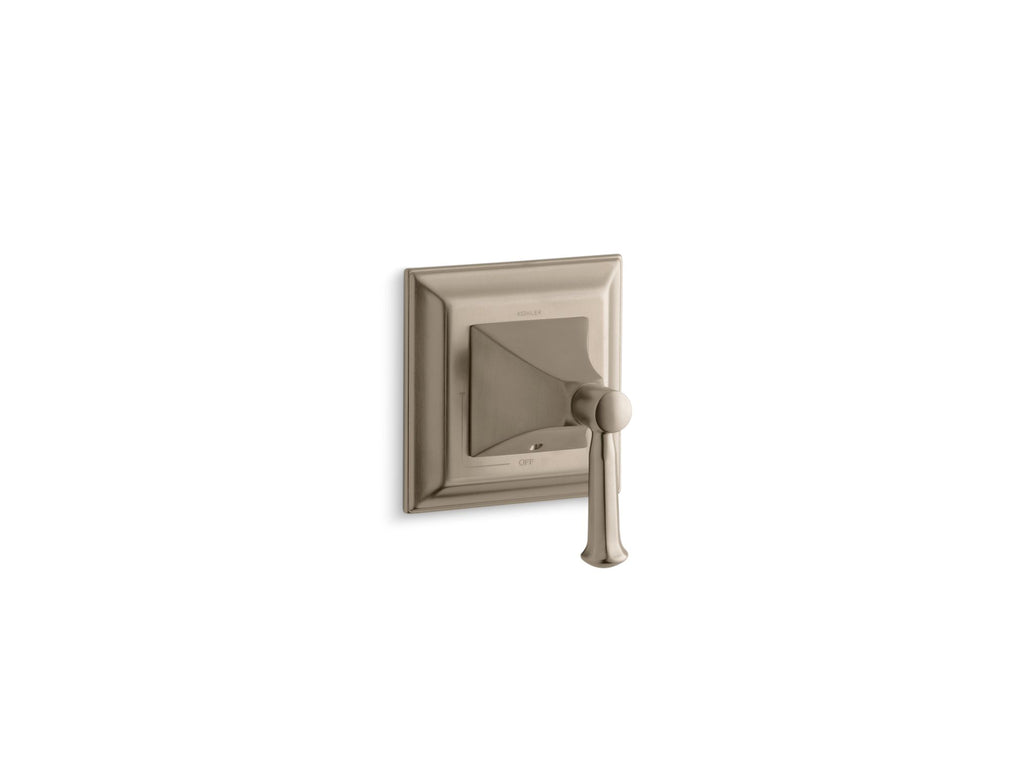 Valve Trim | Memoirs | Vibrant Brushed Bronze | GROF USA