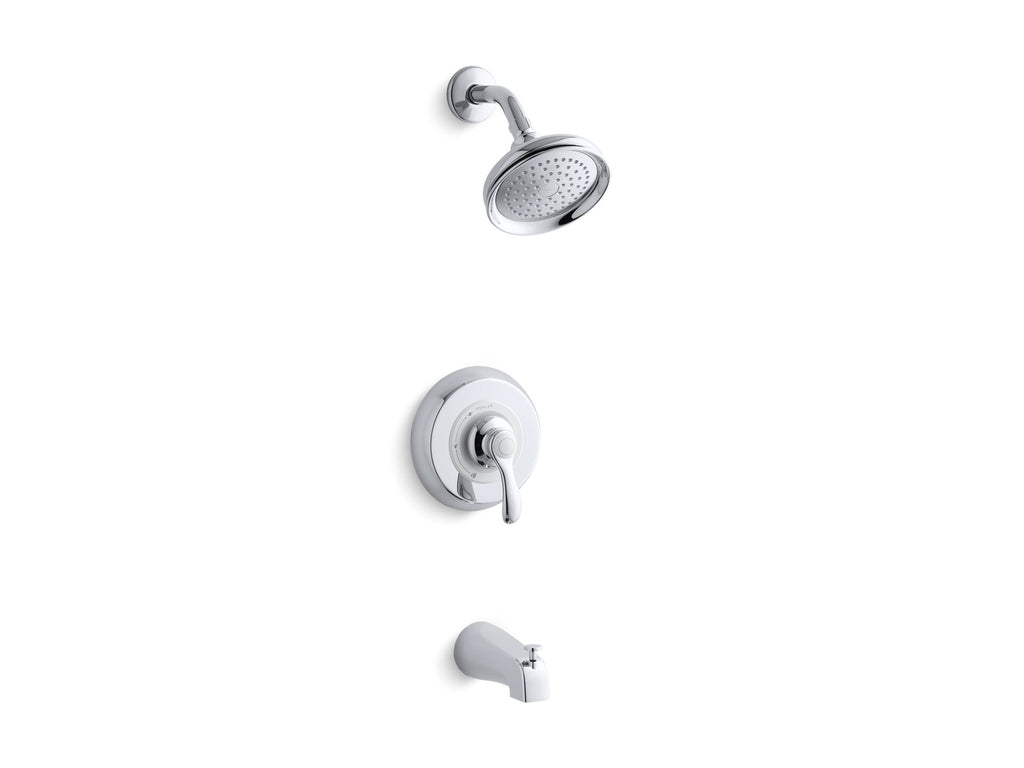 Bath & Shower Faucet Trim | Fairfax | Polished Chrome | GROF USA