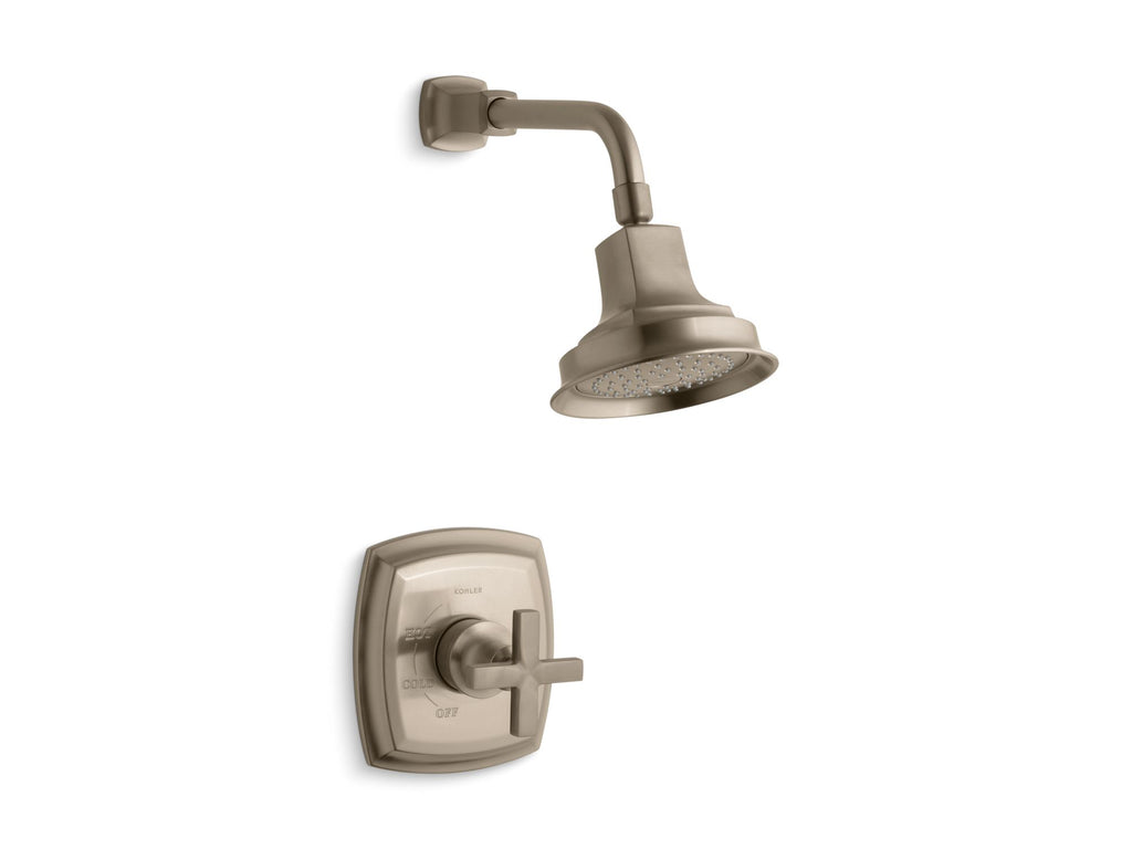 Shower Faucet Trim | Margaux | Vibrant Brushed Bronze | GROF USA