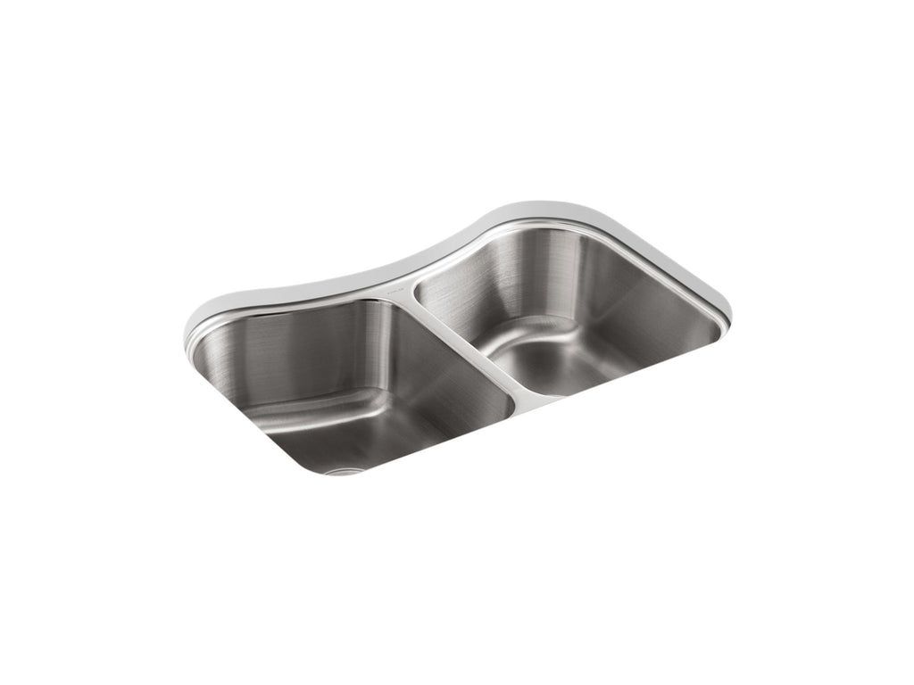 Kitchen Sink | Staccato undercounter double-equal stainless steel sink | Not Applicable | GROF USA