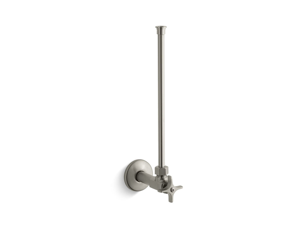 "Angle Supply | TOILET SUPPLY 1/2"" W/STOP 