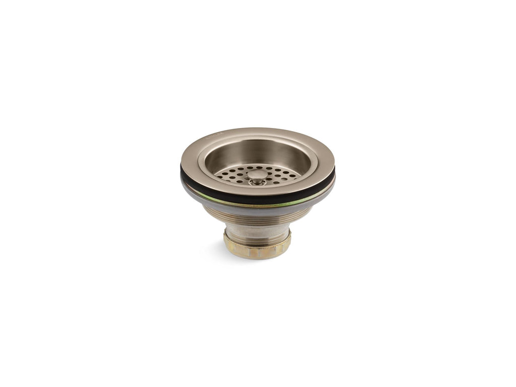Sink Strainer | Duostrainer | Vibrant Brushed Bronze | GROF USA