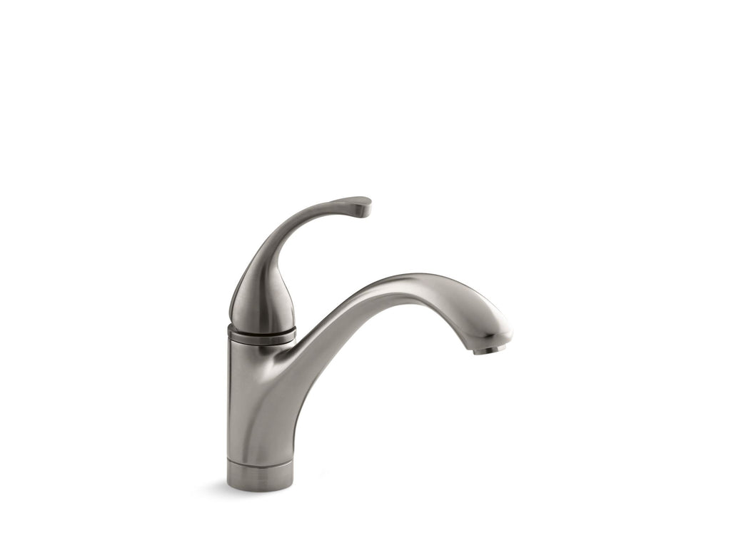Kitchen Faucet | Forté | Vibrant Stainless | GROF USA