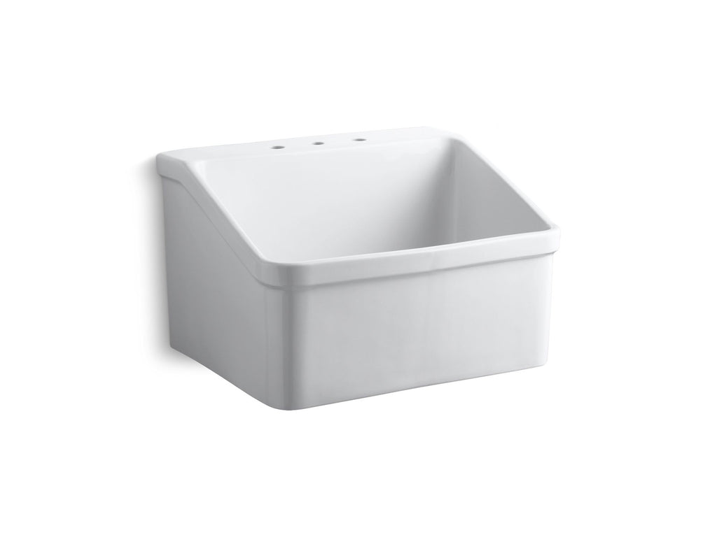 Service Sink | Hollister | White | GROF USA