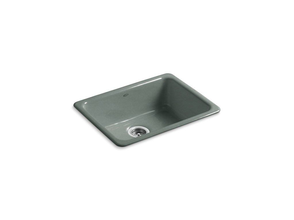 Kitchen Sink | Iron/Tones Undercounter/Self Rimming Rectangle Sink | Basalt | GROF USA
