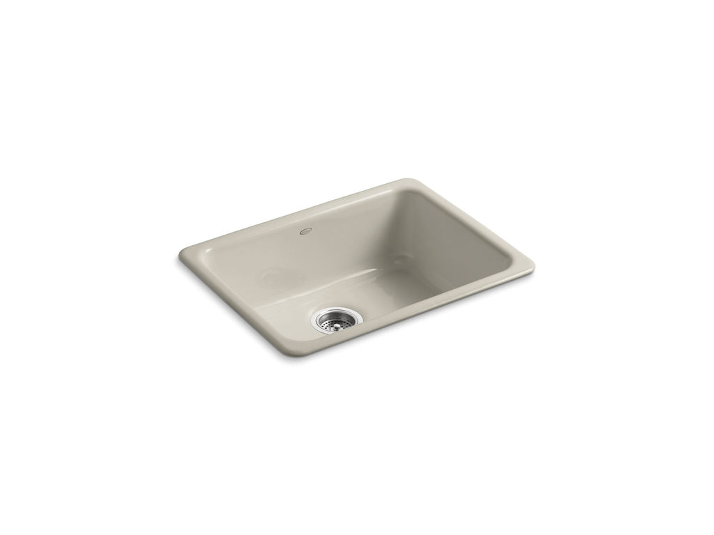 Kitchen Sink | Iron/Tones Undercounter/Self Rimming Rectangle Sink | Sandbar | GROF USA