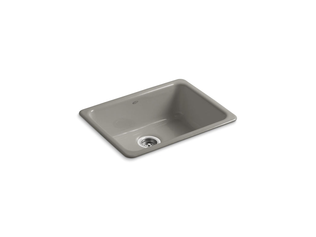 Kitchen Sink | Iron/Tones Undercounter/Self Rimming Rectangle Sink | Cashmere | GROF USA