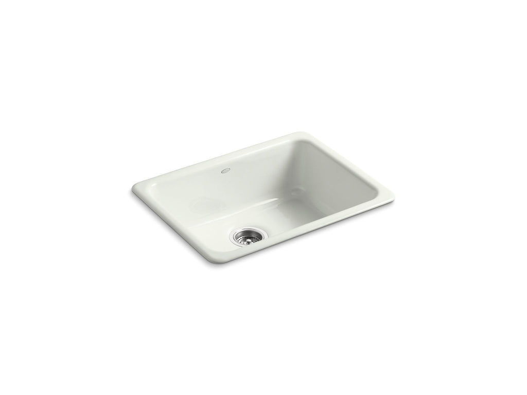 Kitchen Sink | Iron/Tones Undercounter/Self Rimming Rectangle Sink | Dune | GROF USA