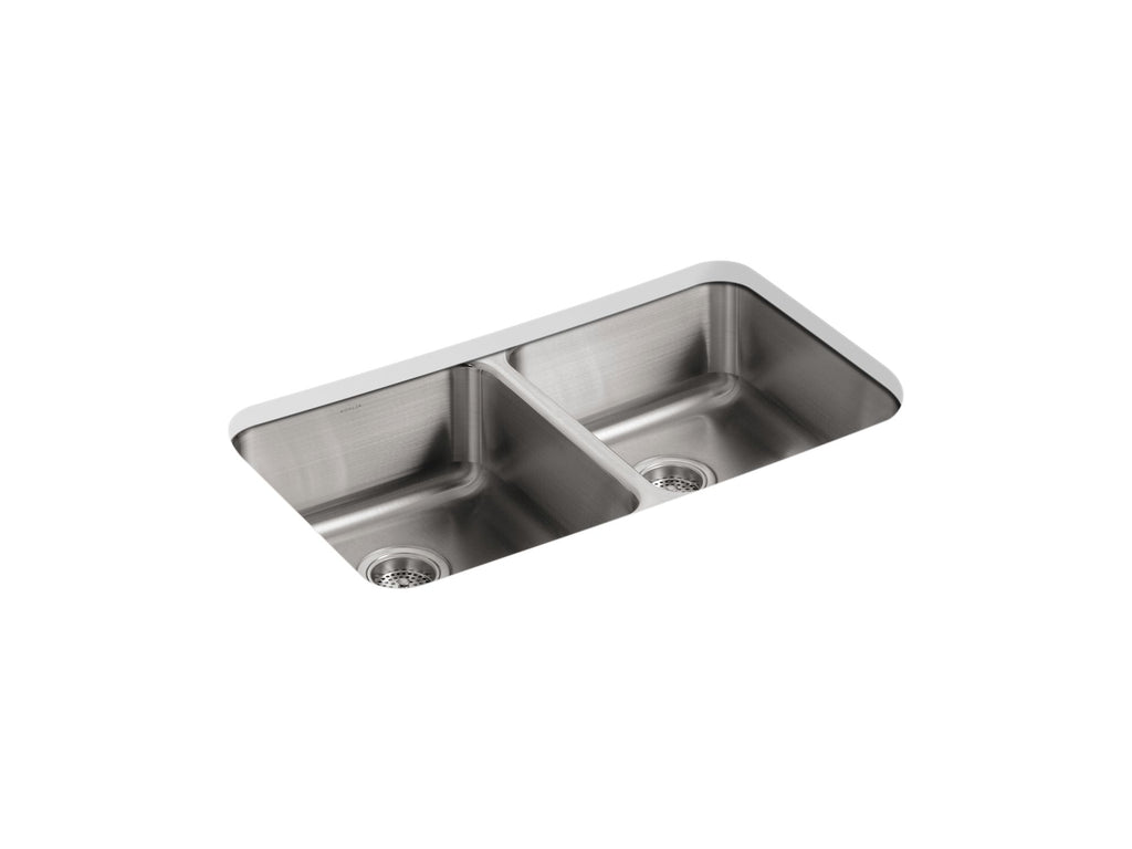 Kitchen Sink | Undertone Double SS Sink | Not Applicable | GROF USA