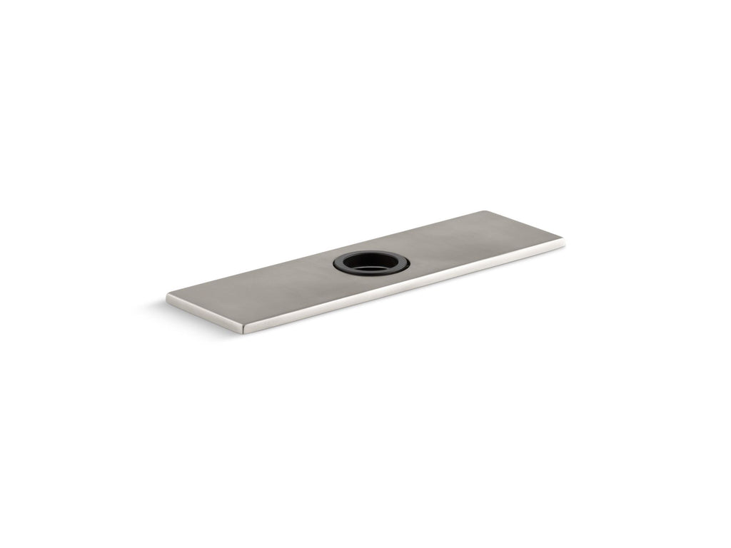"Bathroom Faucet | 8"" ESCUTCHEON PLATE, SQUARE 