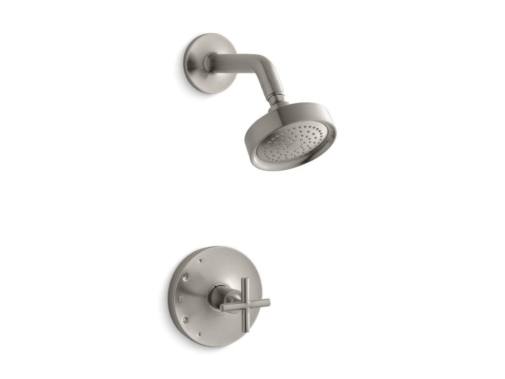 Shower Faucet Trim | Purist | Vibrant Brushed Nickel | GROF USA