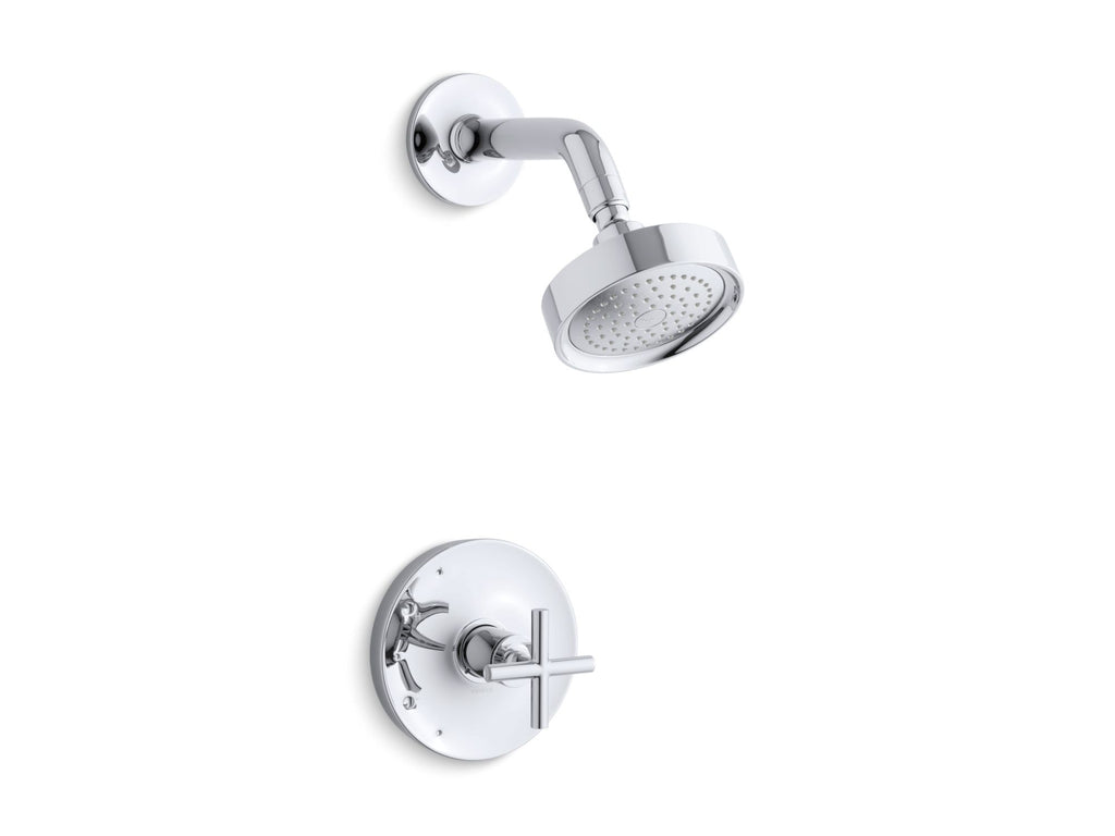 Shower Faucet Trim | Purist | Polished Chrome | GROF USA