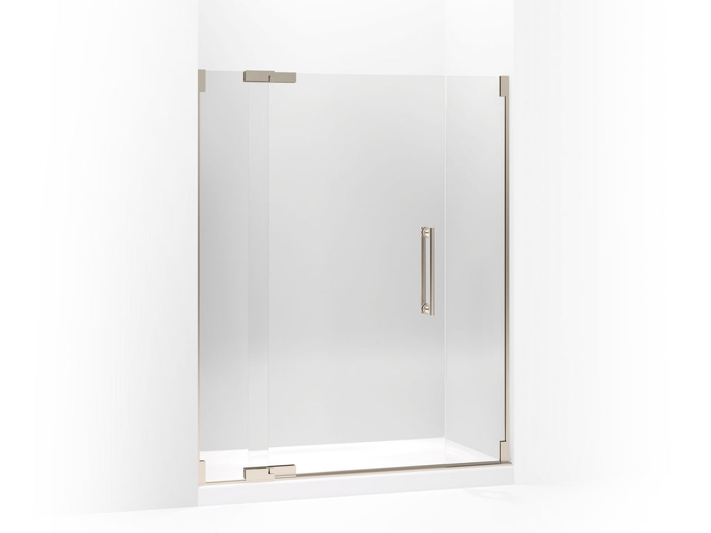 Shower Door | Purist | Anodized Brushed Bronze | GROF USA