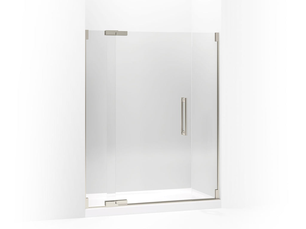 Shower Door | Purist | Anodized Brushed Nickel | GROF USA