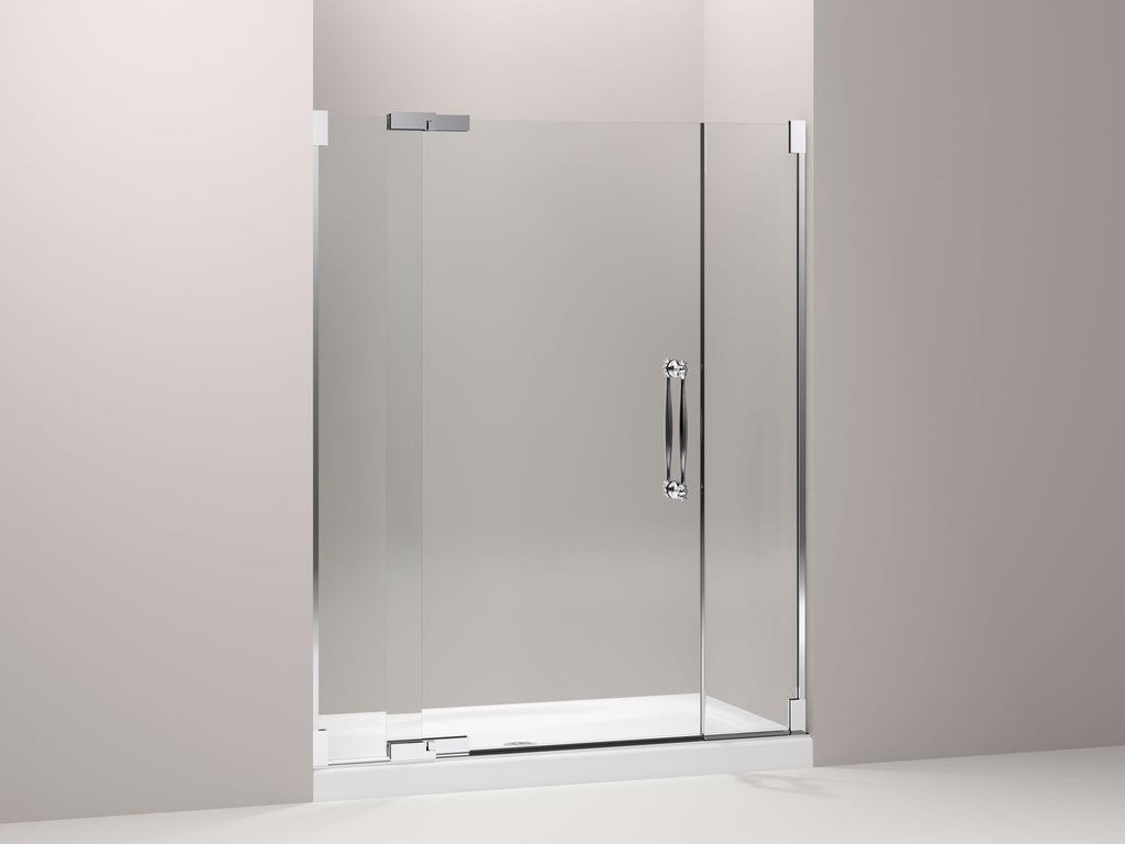 "| GLASS SIDELITES FOR 60"" 3/8"" DOORS 