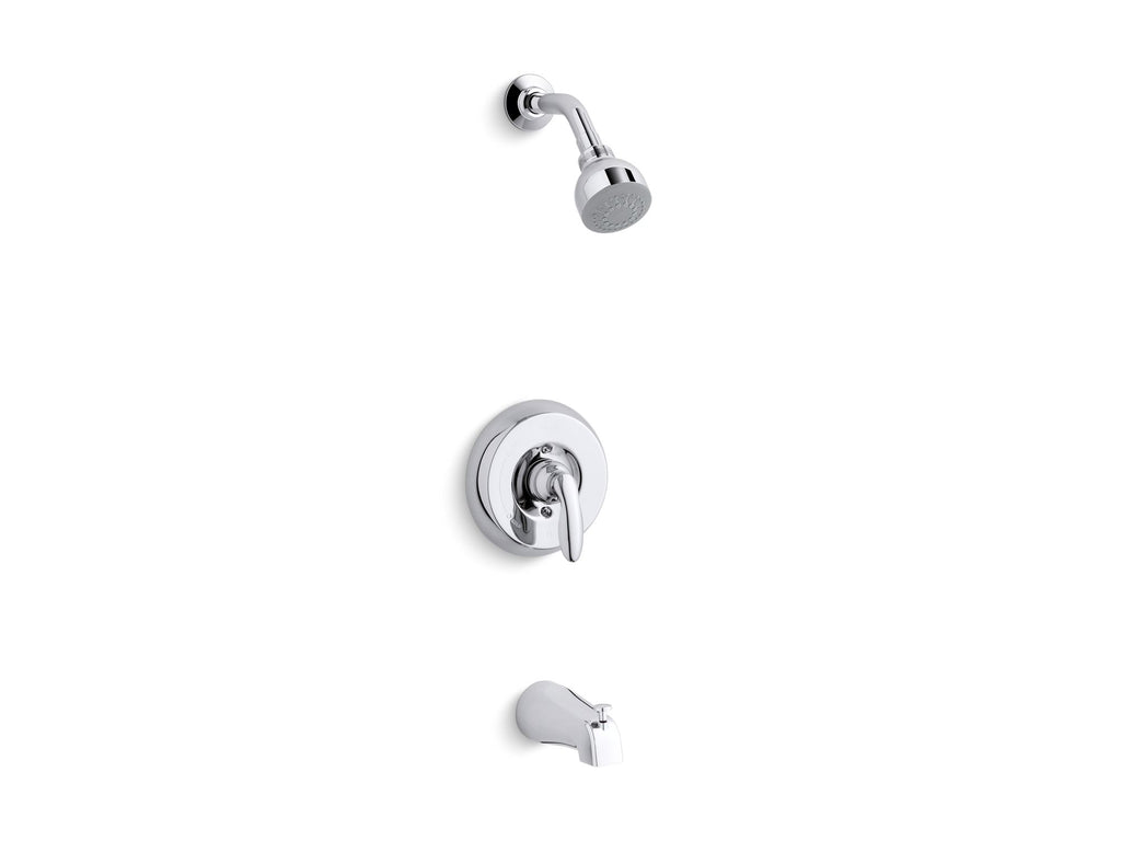 Bath & Shower Faucet Trim | Coralais|Coralais|Coralais | Polished Chrome | GROF USA
