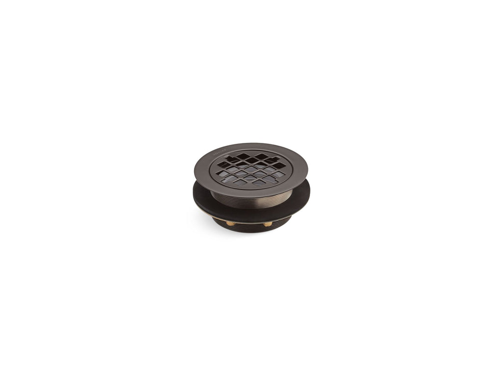 Shower Drains | SHOWER DRAIN W/GRID STRAINER | Oil-Rubbed Bronze | GROF USA