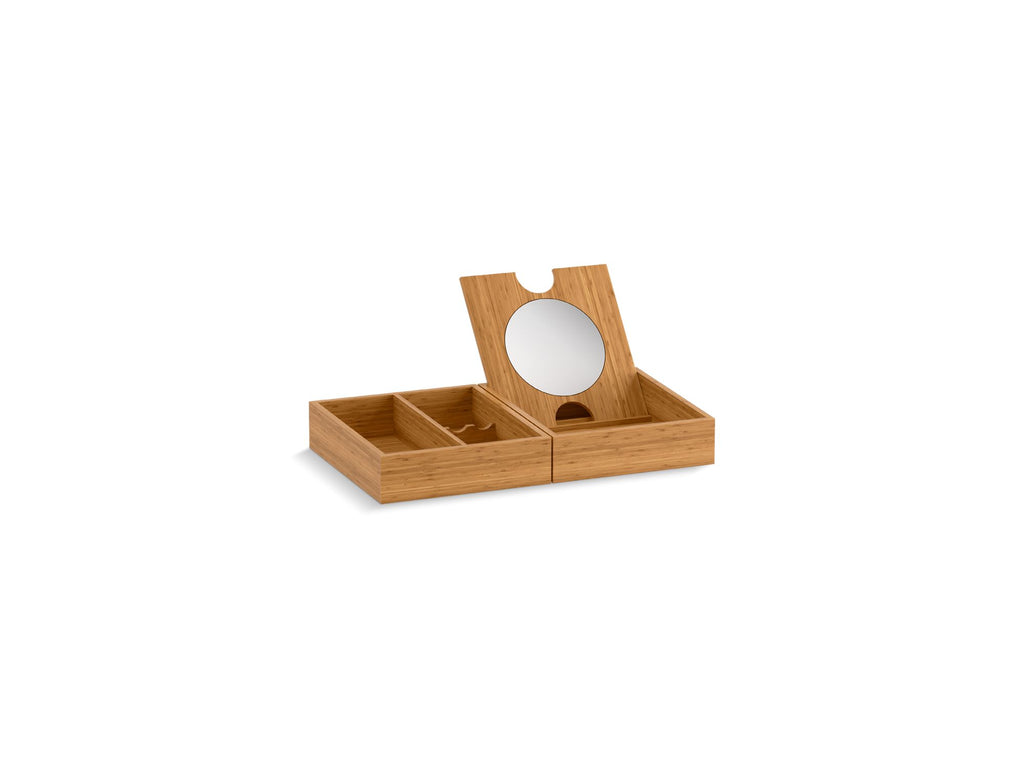 | MAKE UP TRAYS - 2 | Bamboo | GROF USA