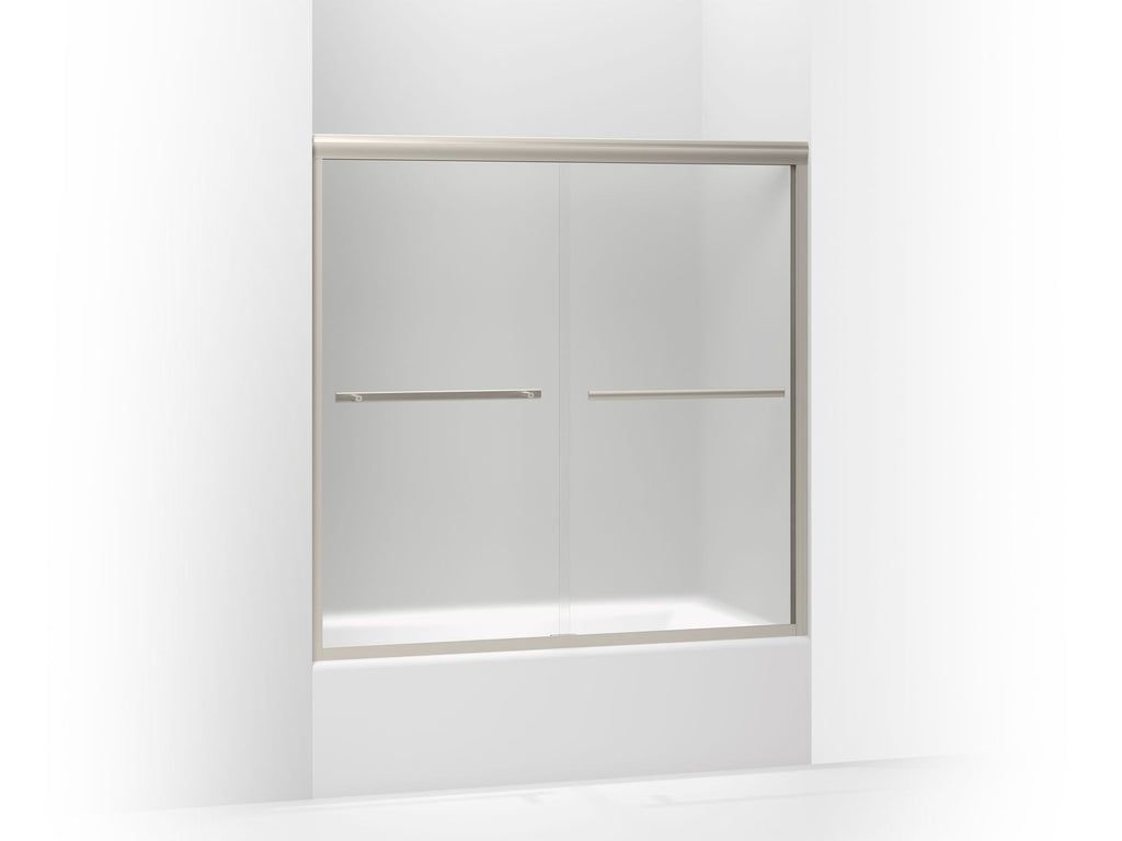 Bath & Shower Door | Gradient | Matte Nickel | GROF USA