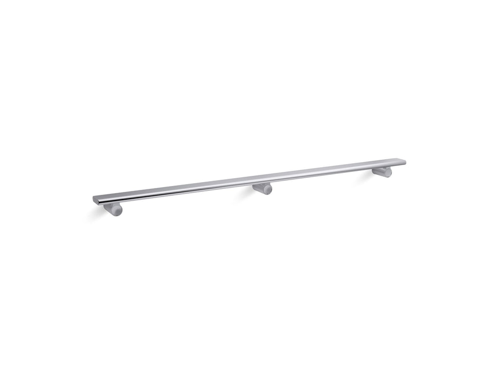 Barre | Choreograph | Bright Polished Silver | GROF USA