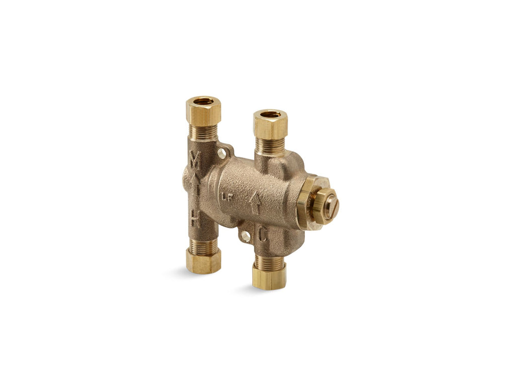 Valve | VALVE, UNDER-COUNTER THERMOSTATIC MIXING | Not Applicable | GROF USA